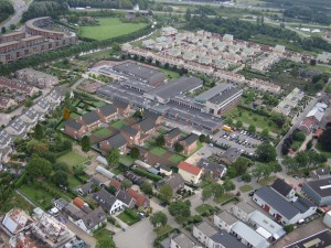 panhoven IJsselstein stedenbouwkundige en architectonische invullig