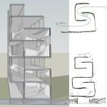 Appartementen concept studie