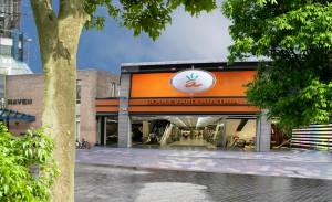 stedenbouwkundige studie Zeewolde entree winkelgebied verbeteren